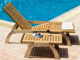 custom teak and stainless deck lounge chairs and furniture wood