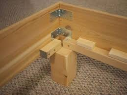 Build A Platform Bed Frame Plans by Best 25 Woodworking Bed Ideas On Pinterest Wood Joining