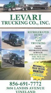 truck driver class a u0026 b levari trucking co llc vineland nj