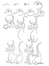 draw dragon easy 2nd grade 2014 dragons