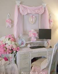 Best Home Office Shabby Chic Ideas On Pinterest Escritório - Home office in bedroom ideas