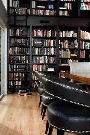 Bookcase Ladder Hardware Bookcase Black Bookshelves With A Sliding Ladder
