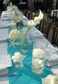 Seashell Centerpieces For Weddings by Best 25 Teal Centerpieces Ideas On Pinterest Teal Wedding