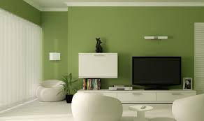 green wall paint living room attractive green wall paint in living room