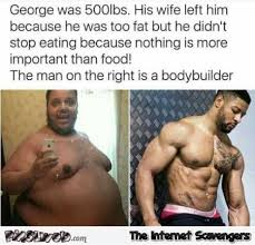 Builder Memes - fat man and body builder funny meme pmslweb