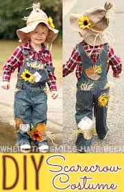 scarecrow costume easy adorable diy scarecrow costume