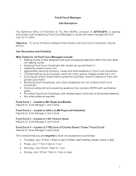 Fast Food Resume Examples by Fast Food Resume Sample Free Resume Example And Writing Download