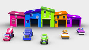 learn colors with street vehicles color song cartoon cars for
