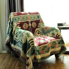 ou jeter un canapé chausub vintage coton jeter couverture d hiver accueil canapé