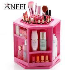 Makeup Box anfei fashion new design rotate 360 degrees makeup box lipstick