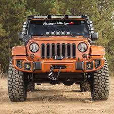 rugged ridge 11231 31 elite turn signal u0026 fog light guards for 07