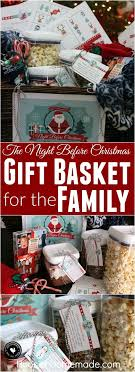 christmas gift baskets family create memories with this meaningful gift basket the before