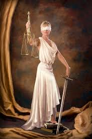 Justice Is Blind Classic Blind Justice Digital Art By Daria Doyle
