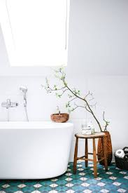 54 best popham design bathrooms images on pinterest design add colour to an all white bathroom with patterned tile