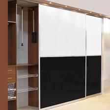 Wardrobe Doors Sliding Interior Solid Wood Sliding Wardrobe Doors Ideas Sliding