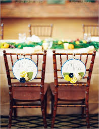 and groom chair diy and groom wedding chair back decorations