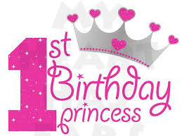 1st birthday 1st birthday girl clipart 53