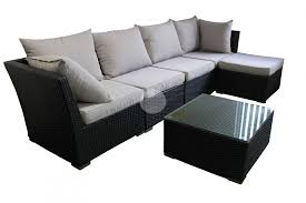 Chaise Sofa Lounge by Outdoor Sofa Lounge With Chaise U0026 Coffee Table Rattan Wicker