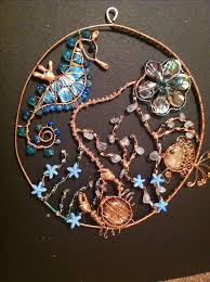 103 best beaded suncatchers images on wire wire