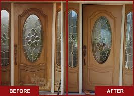 Refinish Exterior Door Step By Step To Do It Yourself Refinish Front Door Homesfeed
