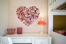 Decor For Bedroom by Heart Wall Decoration