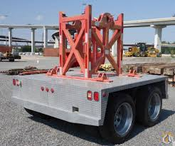 unused link belt nelson boom dolly boom dolly crane part for sale