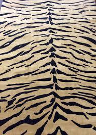 tiger print wool viscose handwoven rug bellevue rug u0026 interiors