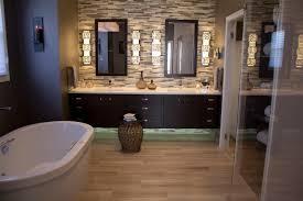 bathroom luxury bathroom wood accent wall impressive bathroom