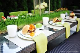 Bbq Party Decorations Dog And Burger Bars B Lovely Events