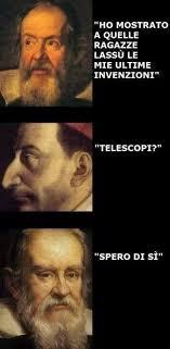 Galileo Meme - telescopi meme by troll man memedroid
