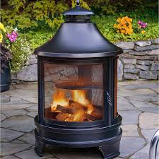 Outdoor Fireplace With Cooking Grill by Barbecues Smokers Firepits Heaters And Chimnea At Costco Co Uk