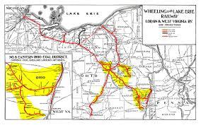 Map Of Eastern Ohio by W U0026le