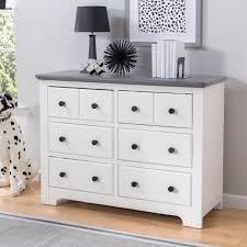 White Dresser And Changing Table Delta Children Providence 6 Drawer Dresser White And Textured