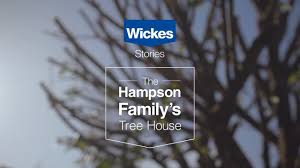 Real Treehouse Wickes Real Stories The Hampson Family U0027s Tree House Youtube