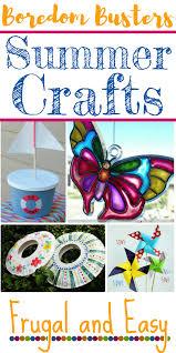 summer crafts for kids the frugal homeschooling mom aka tfhsm