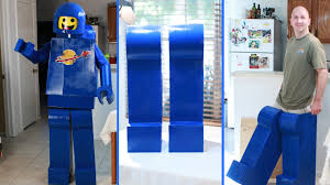 how to make an awesome lego man costume legs lego movie benny