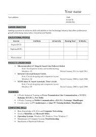 resume format pdf for engineering freshers download chrome resume download chrome unique diploma mechanical engineering for