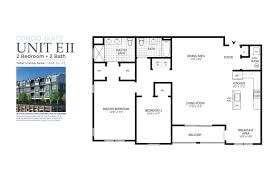 Scaled Floor Plan Marina Pointe East Rockaway