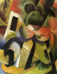small composition ii 1914 franz marc wikiart org