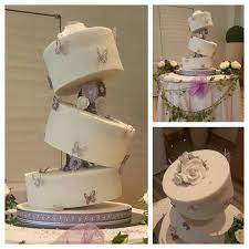 topsy turvy cake stand