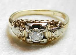 art deco skeleton ring holder images Art deco engagement ring vintage engagement ring 0 30ct old jpg