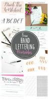 thanksgiving sign up sheet printable free hand lettering printables