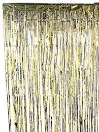 Gold Foil Curtain by Metallic Gold Foil Fringe Curtain 3 Ft X 8 Ft Foil