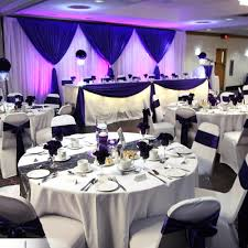 purple wedding decorations wedding and special event decor gallery luxe weddings and events