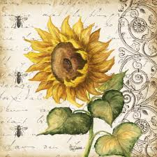 Sunflower Home Decor by Printed Tile X
