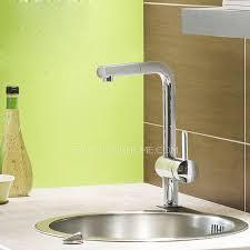Kitchen Faucet Brass Best L Shaped Brass Chrome Single Hole Kitchen Faucet