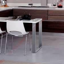 table rectangulaire de cuisine pied de table rectangulaire achat vente de pieds et supports