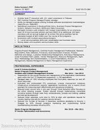 Resume Samples Project Manager by 100 Resume Samples Project Management Software Project