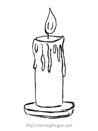 cello coloring page candle coloring pages printable sheen