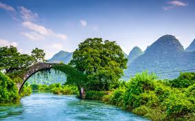 yangshuo china beautiful landscape wallpaper hd download